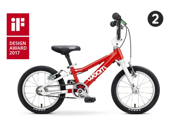 "WOOM 2 | Bike 14 inch | 3-4.5 Years | 37""-43"" 