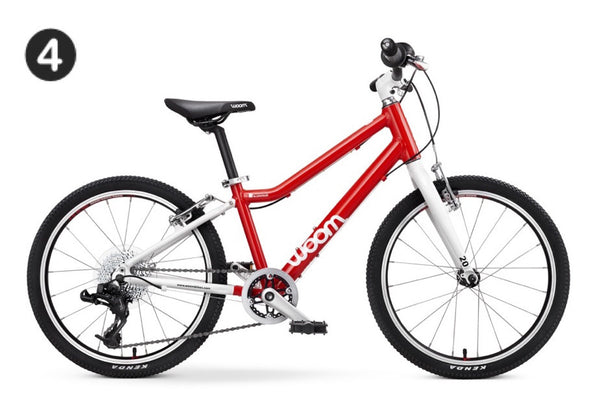 "WOOM 4 | Bike 20 inch | 6-9 Years | 45""-51"" 