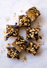 Load image into Gallery viewer, Peanut & Ginger Caramel Raw Bars - Bulk Value Health Slab