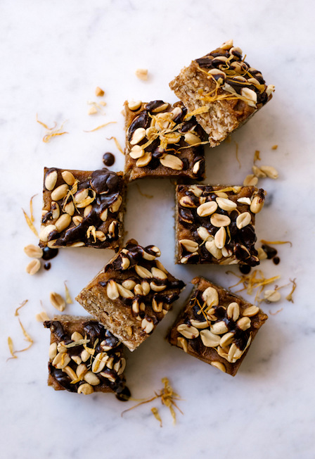 Peanut & Ginger Caramel Raw Bars - Bulk Value Health Slab