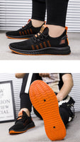 Men Shoes Sneakers Male Vulcanized Shoes lightweight Footwear Black Tenis Masculino Casual Shoes Mesh