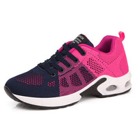 New Platform Ladies Sneakers Breathable Women Casual Shoes Woman Fashion Height Increasing Shoes Plus Size 35-42