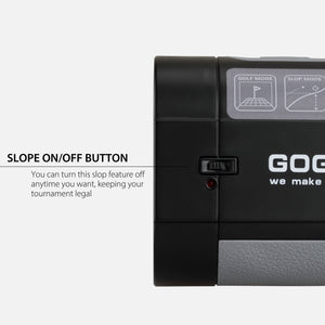 Gogogo Sport Vpro Golf & Hunting Range Finder|Slope Mode Continuous Scan|GS06  650Y