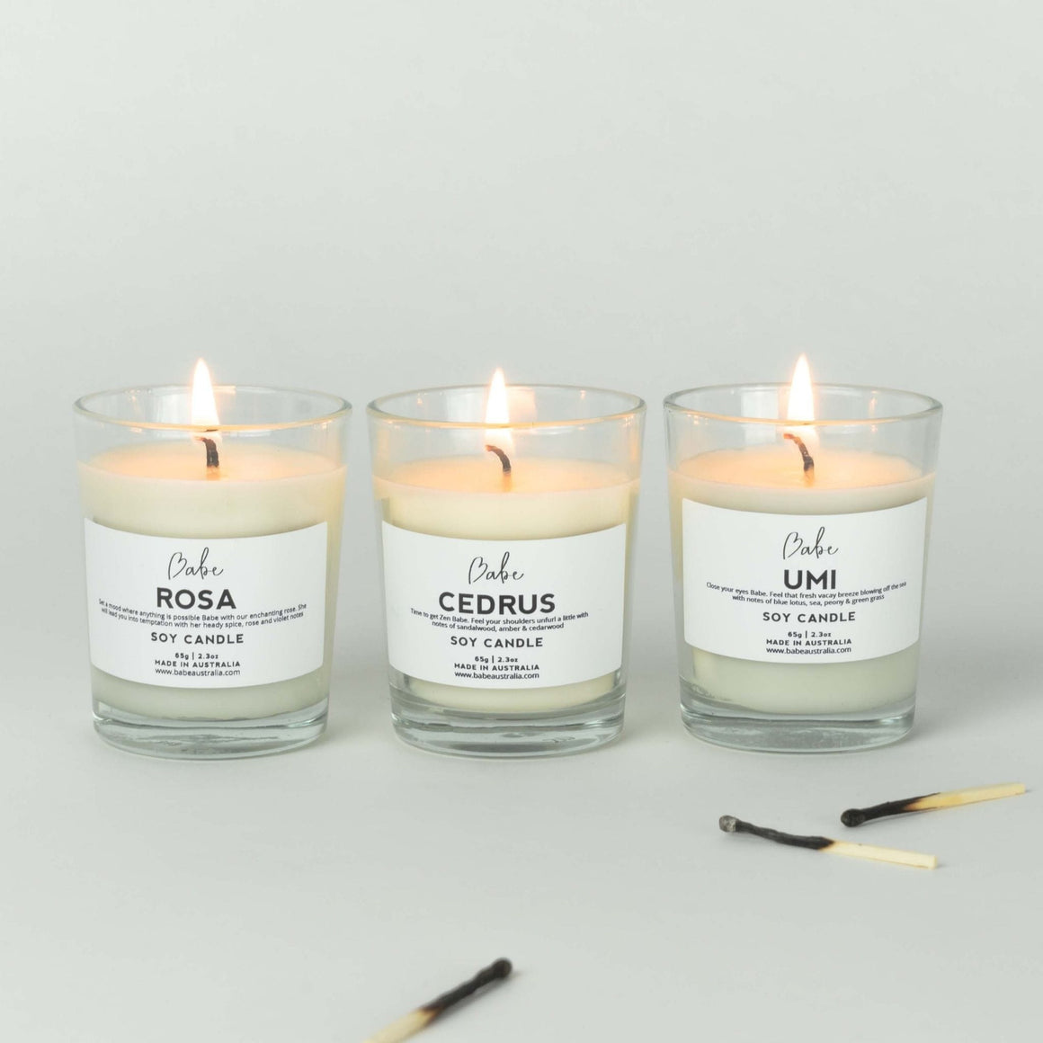 PoolBoy Pack Candle Trio