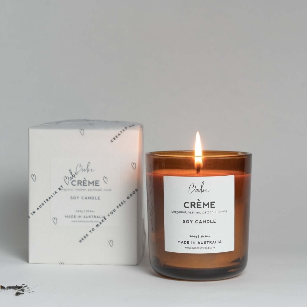 CRÉME Luxury Soy Candle