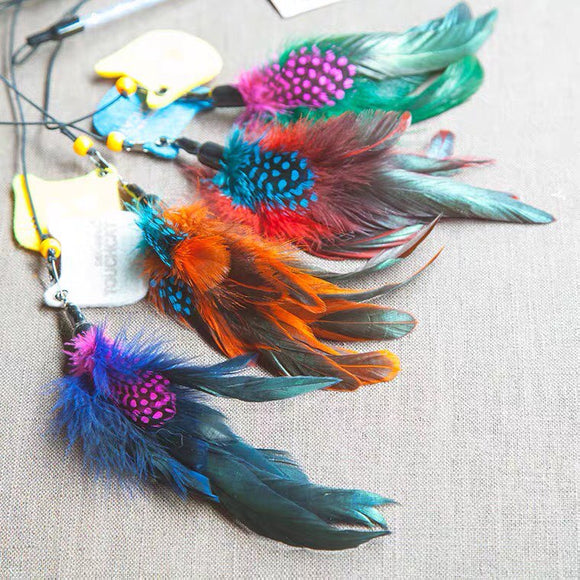 Feather Teaser Cat Toy