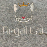 Regal Cat Embroidered Hoodie (Unisex)