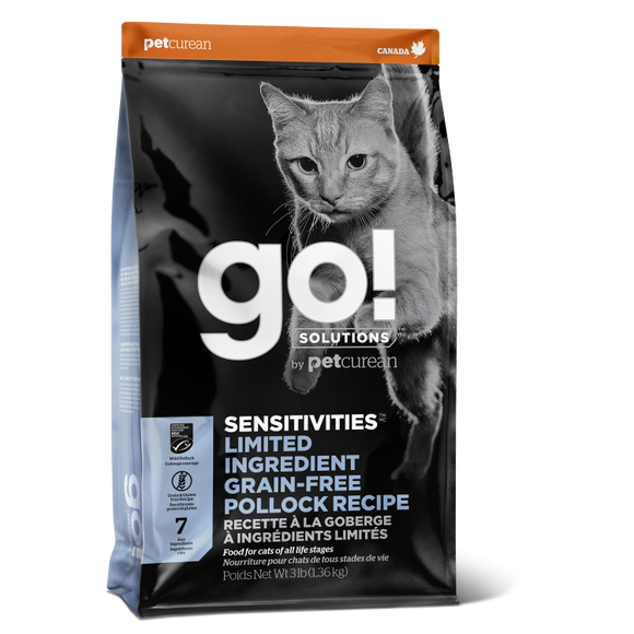 GO! Cat Food Sensitivities - LID GF Pollock