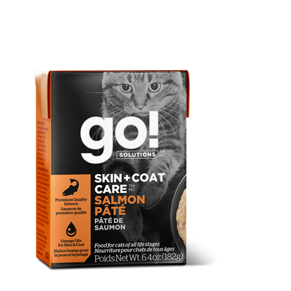 GO! Cat Wet Food Skin & Coat - Salmon Pate