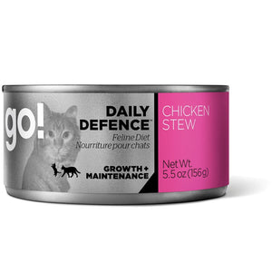 GO! Cat Canned Daily Defence - Chicken Stew