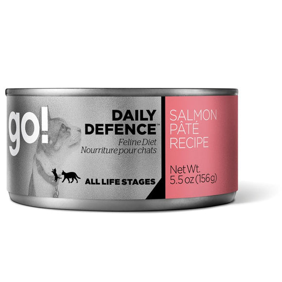 GO! Cat Canned Daily Defence - Salmon