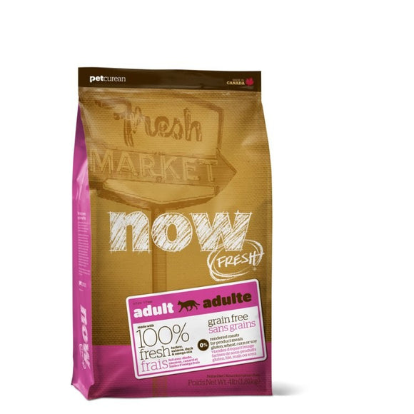 NOW Fresh Cat Food Adult - GF Turkey, Salmon & Duck