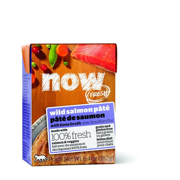 NOW Fresh Cat Wet Food - GF Wild Salmon Pate