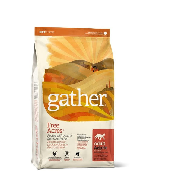 GATHER Cat Food Adult - Free Acres Chicken