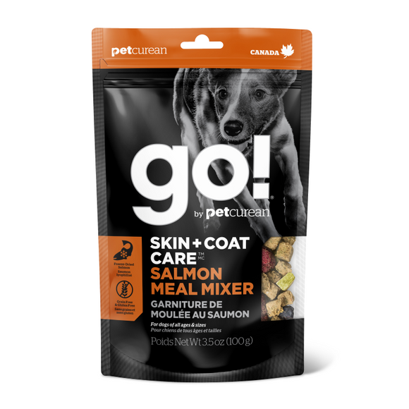 GO! Dog Meal Mixer - Skin & Coat GF Salmon
