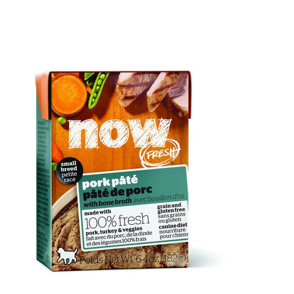 NOW Fresh Dog Wet Food Small Breed - GF Pork Pate