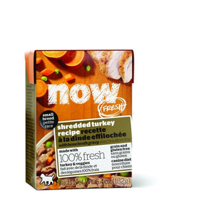 NOW Fresh Dog Wet Food Small Breed - GF Shredded Turkey