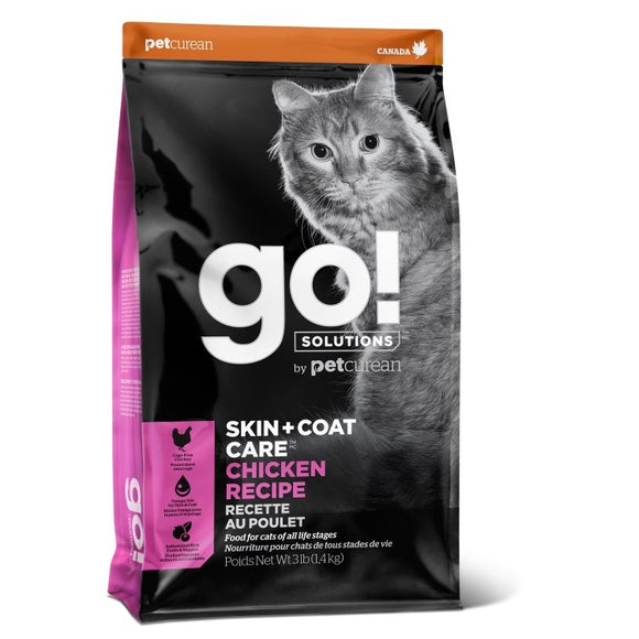 GO! Cat Food Skin & Coat - Chicken