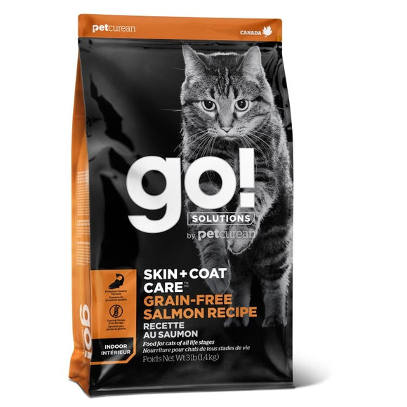 GO! Cat Food Skin & Coat - GF Salmon