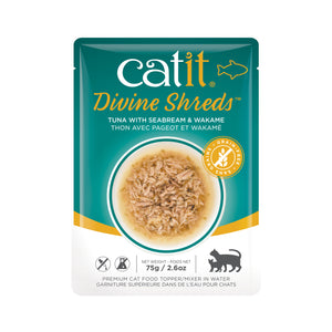 CATIT Divine Shreds - Tuna, Seabream & Wakame