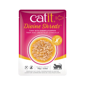 CATIT Divine Shreds - Tuna, Shrimp & Pumpkin