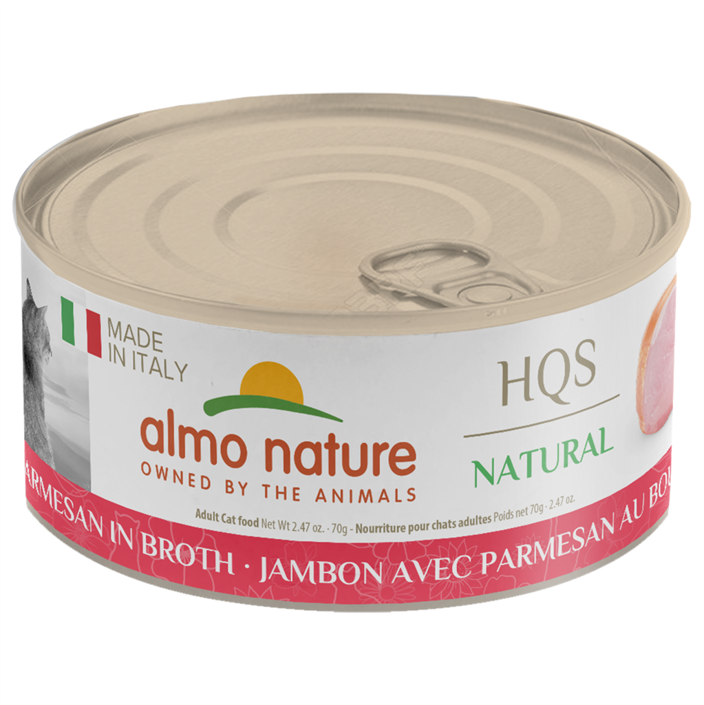 ALMO Nature Cat Canned - Natural - Ham & Parmesan