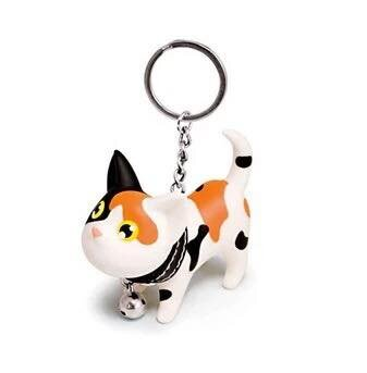 Key Chain With Cat Toy