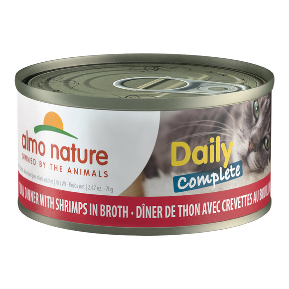 ALMO Nature Cat Canned - Daily Complete - Tuna & Shrimp