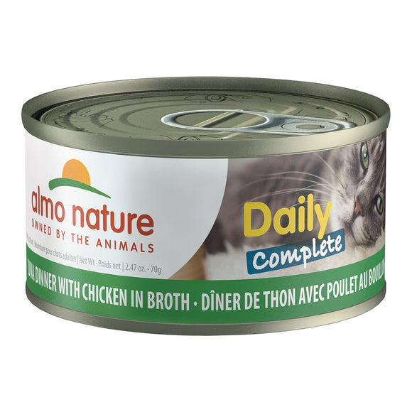 ALMO Nature Cat Canned - Daily Complete - Tuna & Chicken