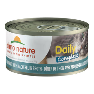 ALMO Nature Cat Canned - Daily Complete - Tuna & Mackerel