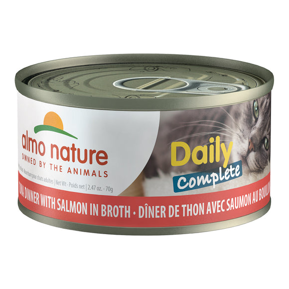 ALMO Nature Cat Canned - Daily Complete - Tuna & Salmon
