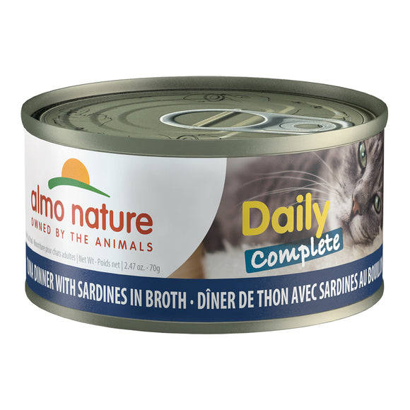 ALMO Nature Cat Canned - Daily Complete - Tuna & Sardines