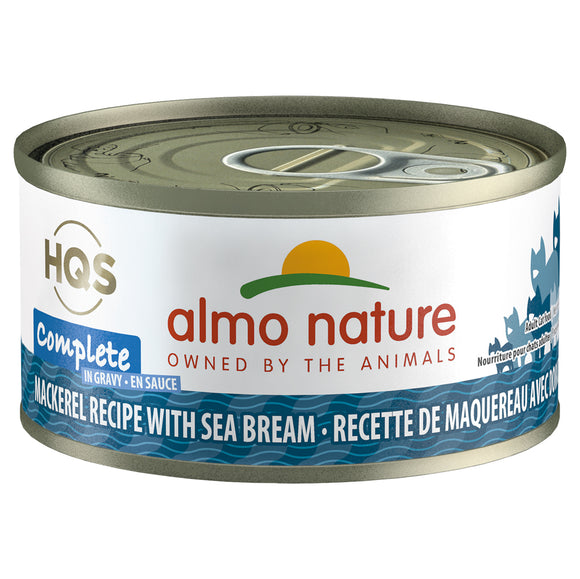 ALMO Nature Cat Canned - Complete - Mackerel & Sea Bream