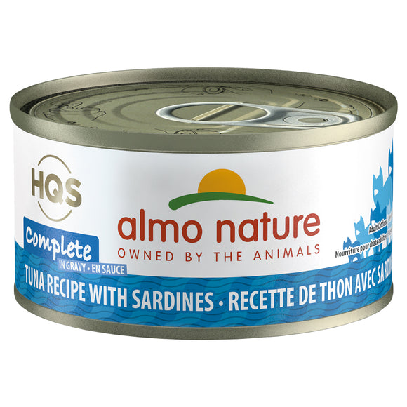 ALMO Nature Cat Canned - Complete - Tuna & Sardines