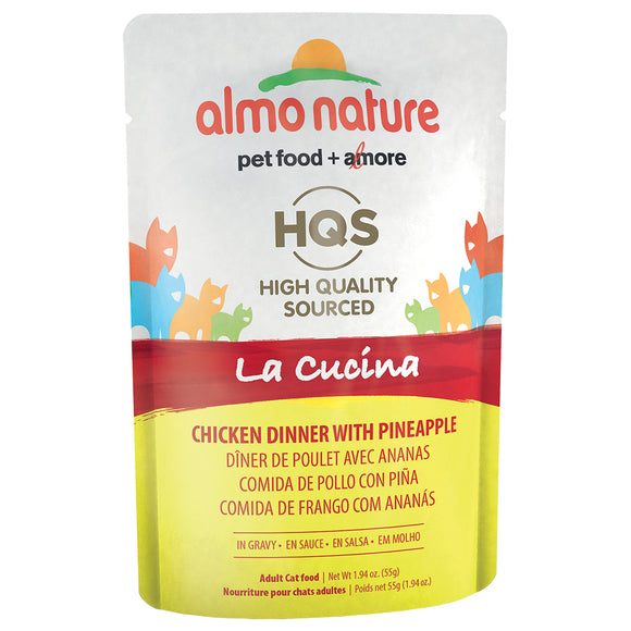ALMO Nature Cat Pouch - HQS La Cucina - Chicken & Pineapple