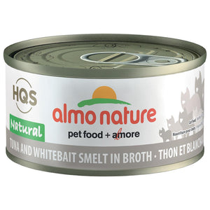 ALMO Nature Cat Canned - Natural - Tuna & Whitebait
