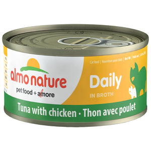 ALMO Nature Cat Canned - Daily - Tuna & Chicken