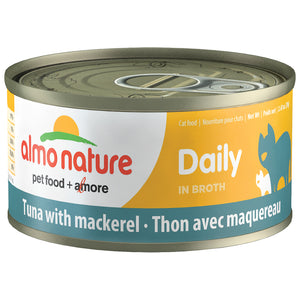 ALMO Nature Cat Canned - Daily - Tuna & Mackerel