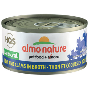 ALMO Nature Cat Canned - Natural - Tuna & Clams in Broth