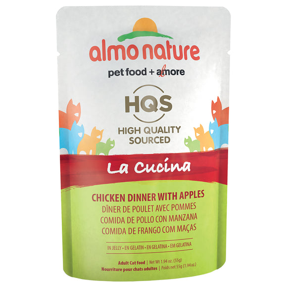 ALMO Nature Cat Pouch - HQS La Cucina - Chicken & Apples