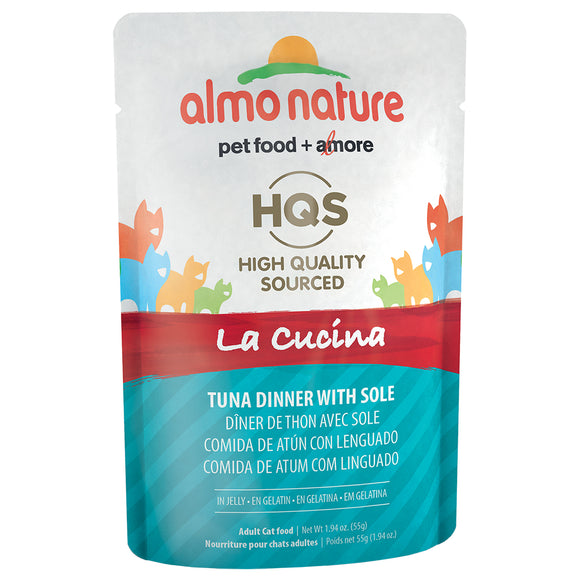 ALMO Nature Cat Pouch - HQS La Cucina - Tuna & Sole