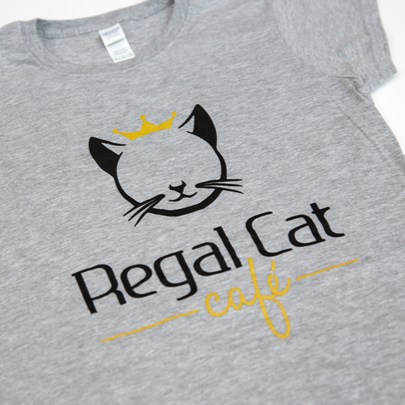 Regal Cat T-shirt (Women)