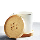 Wood Paw Coaster