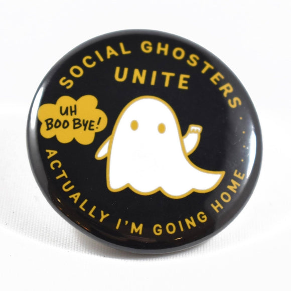 Button - Social Ghosters