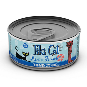 TIKI Cat Canned Aloha Friends - GF Tuna & Tilapia