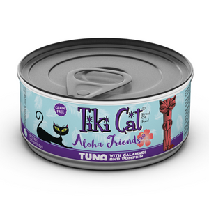 TIKI Cat Canned Aloha Friends - GF Tuna & Calamari