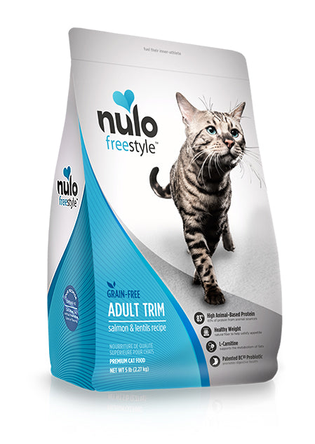 NULO Cat Food - Adult Trim - Salmon & Lentils