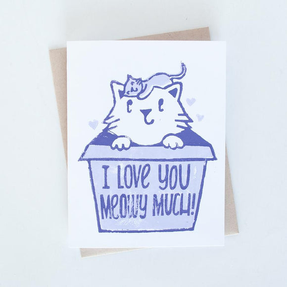 Card - Baby Cat Love