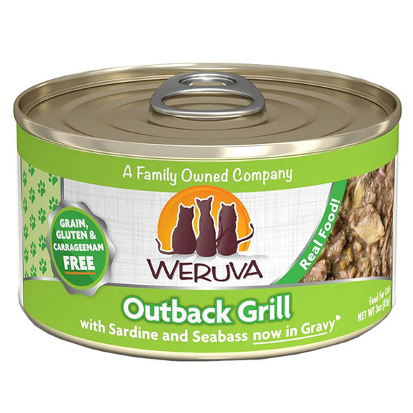 WERUVA Cat Canned - Outback Grill - Fish