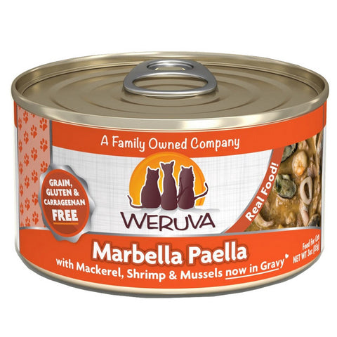 WERUVA Cat Canned- Marabella Paella - Shrimp